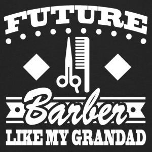 BARBER GRANDAD 22.png Baby & Toddler Shirts - Men's Premium Long Sleeve T-Shirt