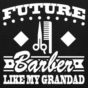 BARBER GRANDAD 22.png Baby & Toddler Shirts - Men's Premium Tank