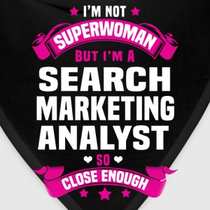 Search Marketing Analyst Tshirt - Bandana