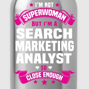Search Marketing Analyst Tshirt - Water Bottle