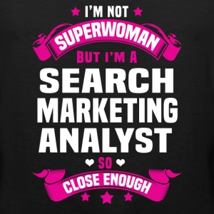 Search Marketing Analyst Tshirt - Men's Premium Tank