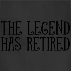 The Legend Has Retired T-Shirts - Adjustable Apron