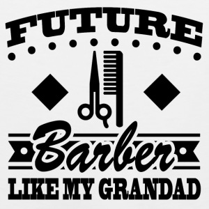 BARBER GRANDAD 11.png Baby & Toddler Shirts - Men's Premium Tank