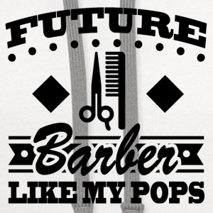 BARBER POPS 11.png Baby & Toddler Shirts - Contrast Hoodie