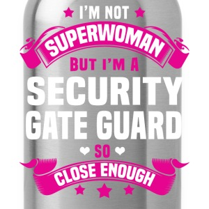 Security Gate Guard Tshirt - Water Bottle