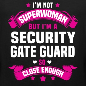 Security Gate Guard Tshirt - Men's Premium Tank