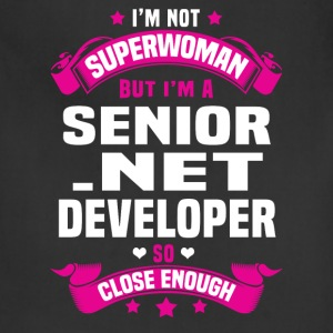 Senior .NET Developer Tshirt - Adjustable Apron