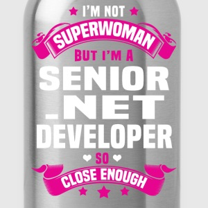 Senior .NET Developer Tshirt - Water Bottle