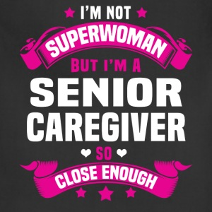 Senior Caregiver Tshirt - Adjustable Apron