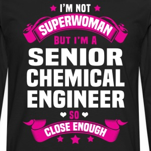 Senior Chemical Engineer Tshirt - Men's Premium Long Sleeve T-Shirt