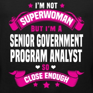 Senior Government Program Analyst Tshirt - Men's Premium Tank
