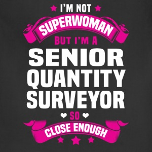 Senior Quantity Surveyor Tshirt - Adjustable Apron