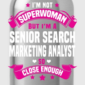 Senior Search Marketing Analyst Tshirt - Water Bottle