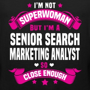 Senior Search Marketing Analyst Tshirt - Men's Premium Tank