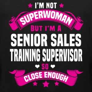Senior Sales Training Supervisor Tshirt - Men's Premium Tank