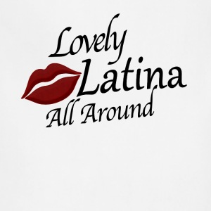 Lovely Latina All Around  T-Shirts - Adjustable Apron