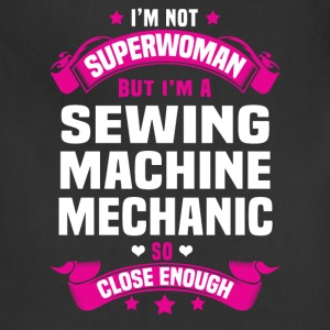 Sewing Machine Mechanic Tshirt - Adjustable Apron