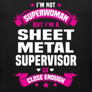 Sheet Metal Supervisor Tshirt - Men's Premium Tank