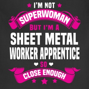 Sheet Metal Worker Apprentice Tshirt - Adjustable Apron