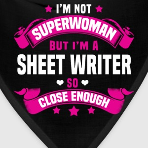 Sheet Writer Tshirt - Bandana