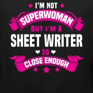 Sheet Writer Tshirt - Men's Premium Tank