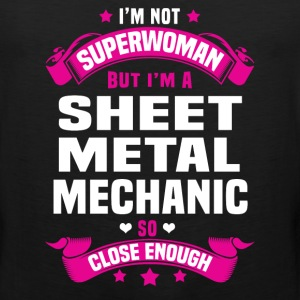 Sheet Metal Mechanic Tshirt - Men's Premium Tank