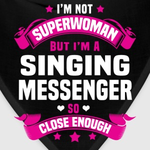 Singing Messenger Tshirt - Bandana