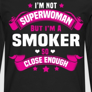 Smoker Tshirt - Men's Premium Long Sleeve T-Shirt