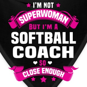 Softball Coach Tshirt - Bandana