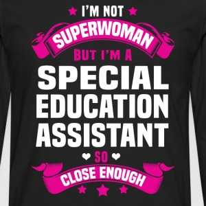 Special Education Assistant Tshirt - Men's Premium Long Sleeve T-Shirt