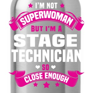 Stage Technician Tshirt - Water Bottle