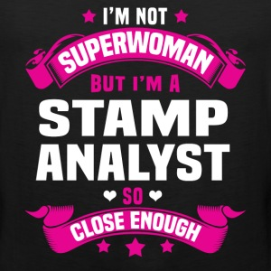 Stamp Analyst Tshirt - Men's Premium Tank