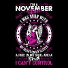 Im A November Woman T-Shirts - Women's Premium T-Shirt
