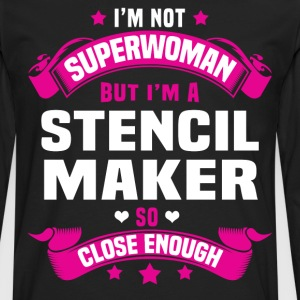 Stencil Maker Tshirt - Men's Premium Long Sleeve T-Shirt