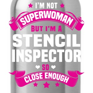Stencil Inspector Tshirt - Water Bottle