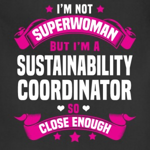 Sustainability Coordinator Tshirt - Adjustable Apron