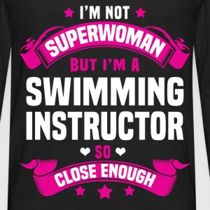 Swimming Instructor Tshirt - Men's Premium Long Sleeve T-Shirt