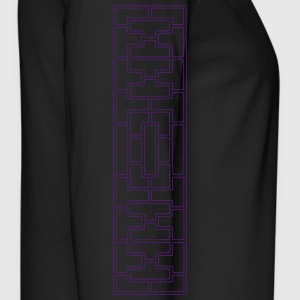 Deco Maze Bottoms - Men's Premium Long Sleeve T-Shirt