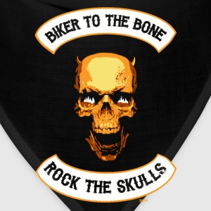 Skull mc Back - Bandana