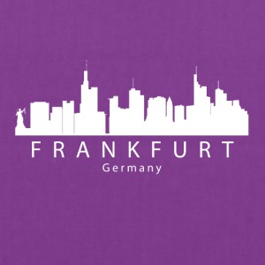 Frankfurt Germany Skyline - Tote Bag