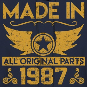 made in 1987 33.png T-Shirts - Men's Hoodie