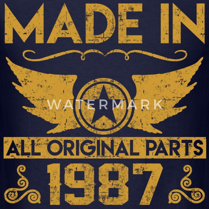 made in 1987 33.png T-Shirts - Men's T-Shirt