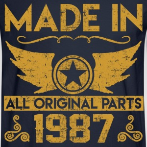 made in 1987 33.png T-Shirts - Men's Long Sleeve T-Shirt