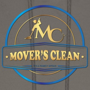 Movers Clean gold and blue - Men's Hoodie