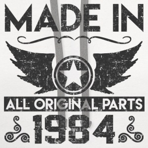 made in1984 11.png T-Shirts - Contrast Hoodie