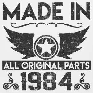 made in1984 11.png T-Shirts - Men's Premium Tank