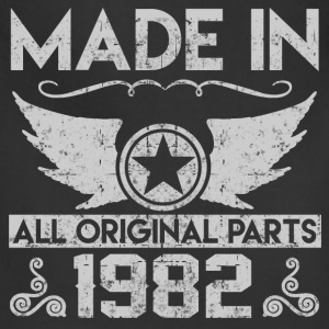 made in 1982 22.png T-Shirts - Adjustable Apron