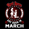 Real Lovers Are Born In March T-Shirts - Women's Premium T-Shirt