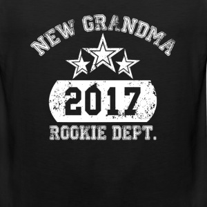 New Grandma 2017 Rookie Dept. T-Shirts - Men's Premium Tank