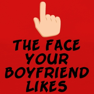 The face your boy friend likes - Women's Premium Long Sleeve T-Shirt